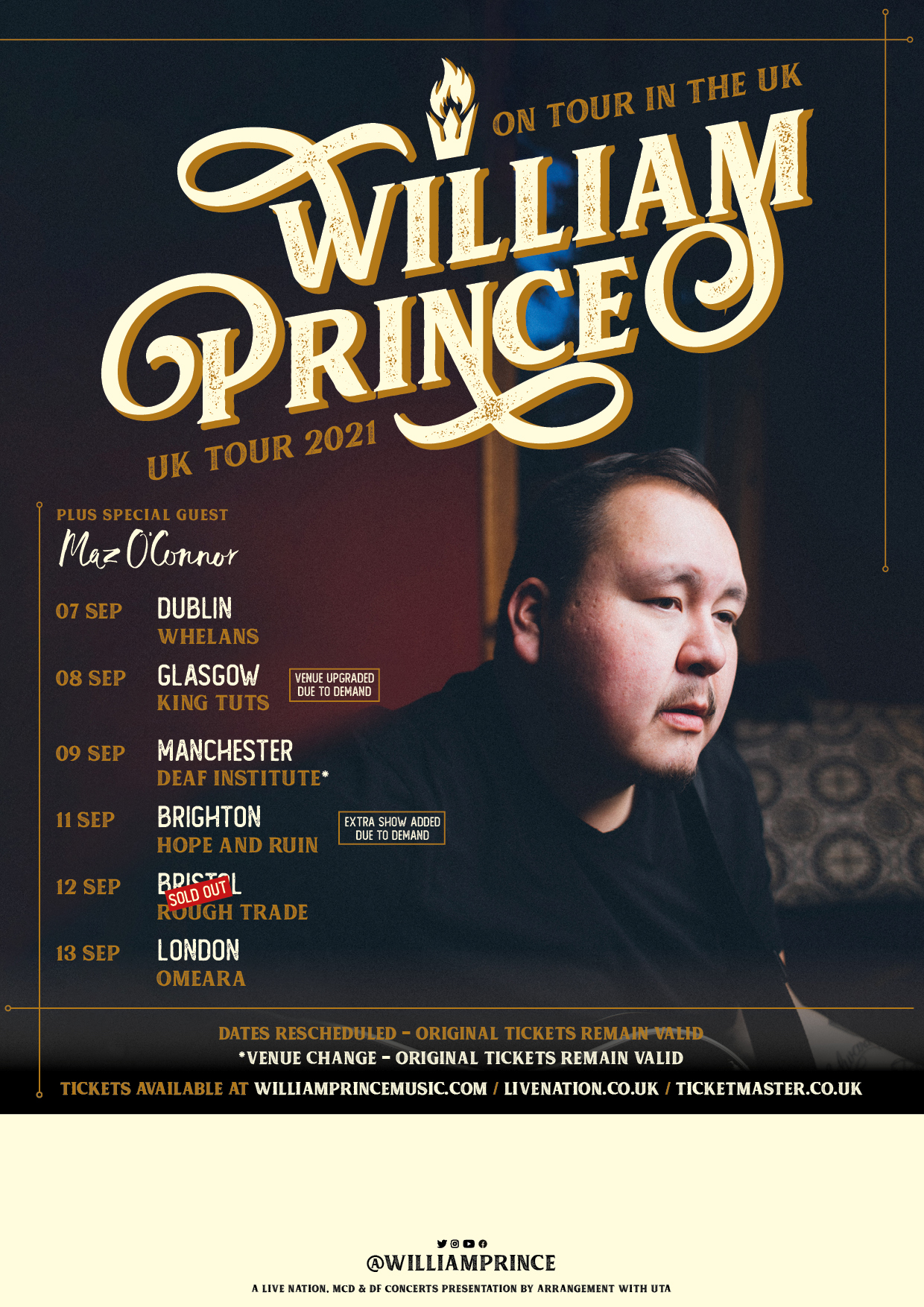Manchester (opening for William Prince)